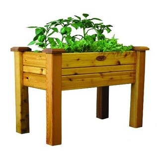 Gronomics EGB 18-34S Safe Finish Elevated Garden Bed 18 x 34 x 32 in