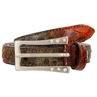 Renato Balestra Nerodia Python Leather Womens Belt