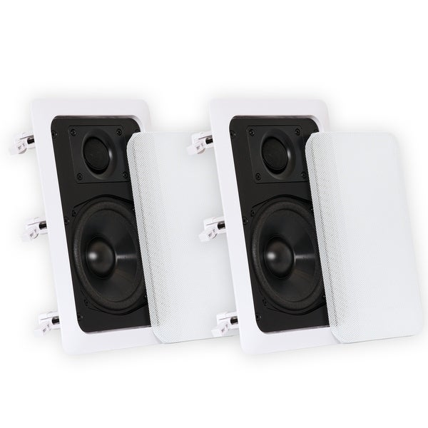 Shop Theater Solutions CS5W In Wall Speakers Home Theater