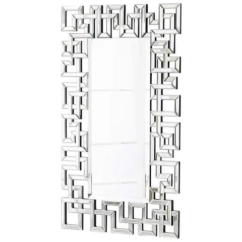 Cyan Design 05700 Psara Rectangular Mirror - Clear