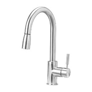 Sonoma Kitchen Faucet with 1.8 Gpm Pull Down Spray - Stainless Steel