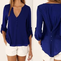Simple Sophisticated Blouse in 5 Colors