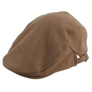 Winter Warm Newsboy Duckbill Ivy Cap Cabbie Driving Golf Flat Beret Hat Khaki