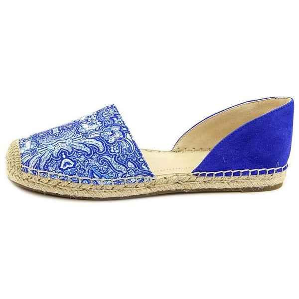 Shop Marc Fisher Womens Manda 2 Leather Square Toe 15003684 Espadrille Flats - - 15003684 Toe d5da2b