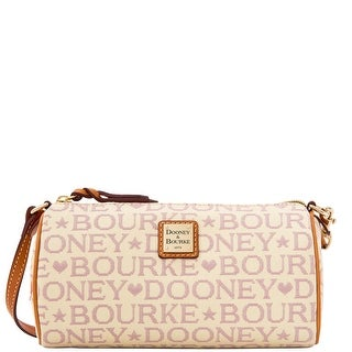 Dooney & Bourke Tapestry Small Barrel (Introduced by Dooney & Bourke at $118 in Dec 2015) - Lavender