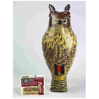 Dalen NE-0R Inflatable Great Horned Ornament Owl, 2'