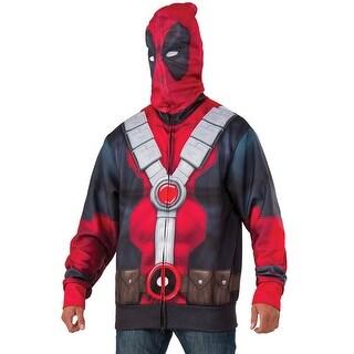 Marvel Deadpool Men's Costume Hoodie