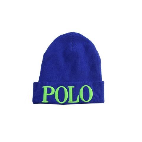 Polo Ralph Lauren Blue Icon Beanie OS