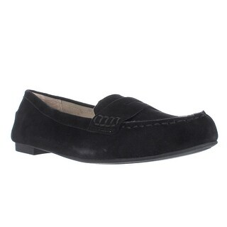 White Mountain Markos Casual Penny Loafers, Black