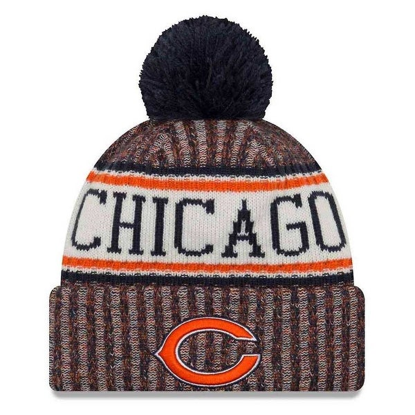 4f77a0f03 New Era 2018 NFL Chicago Bears Sport Stocking Knit Hat Winter Beanie  11768197