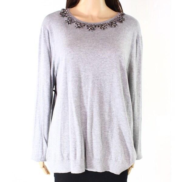 Lauren by Ralph Lauren Women Medium Embellish Sweater