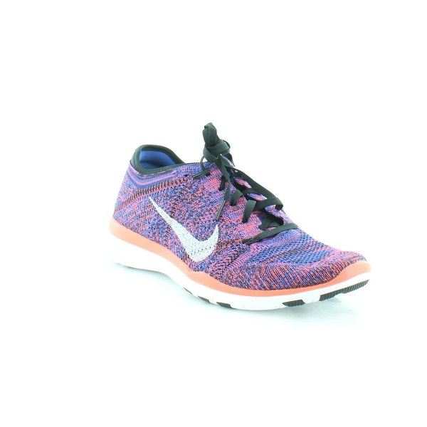 16e7335a43da Shop Nike Free 4.0 Flyknit Women s Athletic Black White RCR Bl ...