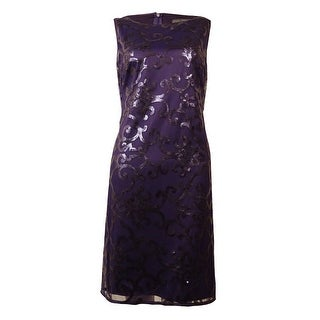 Jessica Howard Women's Sleeveless Sequin Dress