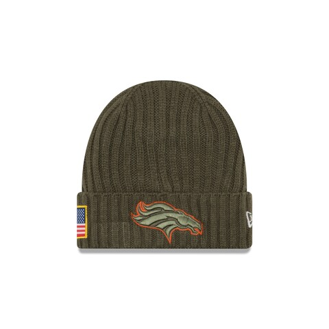 Denver Broncos 2017 Salute to Service Knit Hat