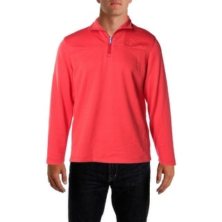 Izod Mens Performance Fleece 1/4 Zip Pullover