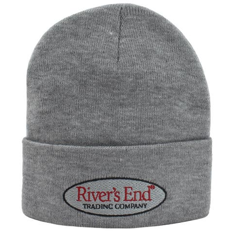 River's End Womens 12 Inch Cuffed Knit Cap Athletic Hats Beanie