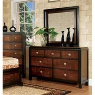 Furniture Of America IDF-7152M Patra Two Tone Traditional Mirror