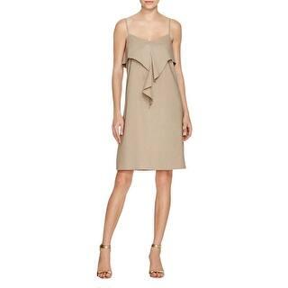 49a513922a0e6 Theory Womens Hekana Casual Dress Linen Adjustable Straps