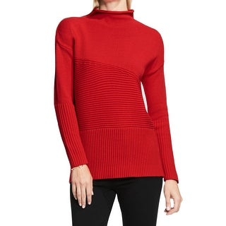Vince Camuto NEW Red Women's Size Small PS Petite Knitted Sweater