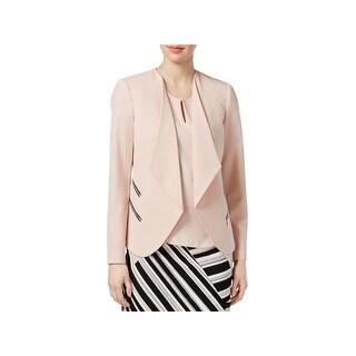 Nine West Womens Open-Front Blazer Long Sleeves Open Front