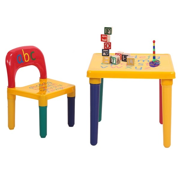 Play Study Furniture Children Toddler Kids able And Chair Set. Opens flyout.