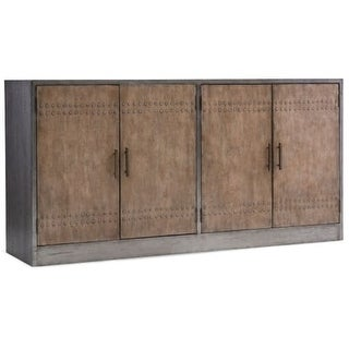 Hooker Furniture 638 85283 LTBR 72 Inch Wide Hardwood Buffet From The  Melange