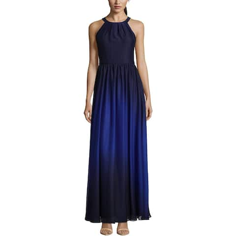 f3fe280237 Betsy   Adam Womens Evening Dress Chiffon Halter