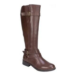 White Mountain Women's Loyal Brown Leather