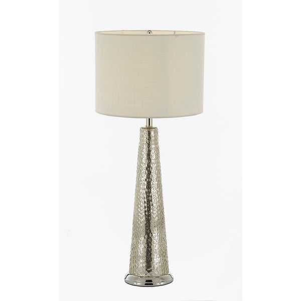 Shop Hammered Metal Table Lamp With Shade Bedside Lamp Desk Lamp
