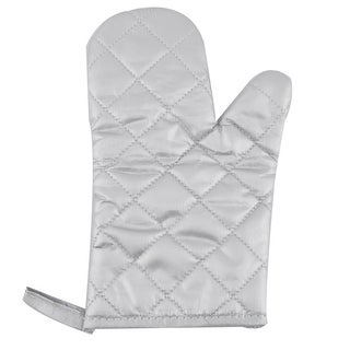 Family Polyester Plaid Design Heat Resistant Insulated Hand Protector Oven Mitt