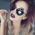 Cornelia Cat Eye Sunglasses - Thumbnail 4