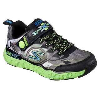 Skechers 97501L BKLM Boy's COSMIC FOAM-FUTURIST Sneakers