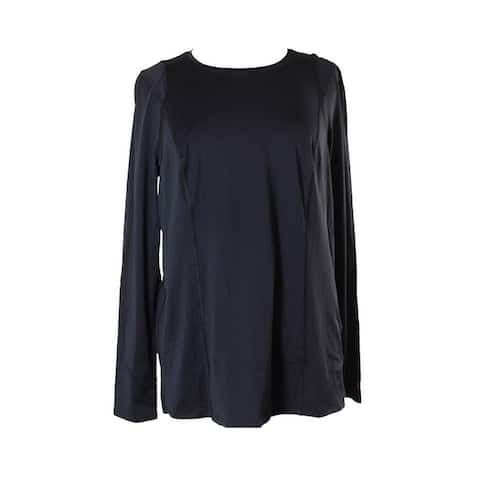 Tommy Hilfiger Black Long-Sleeve Active Top S