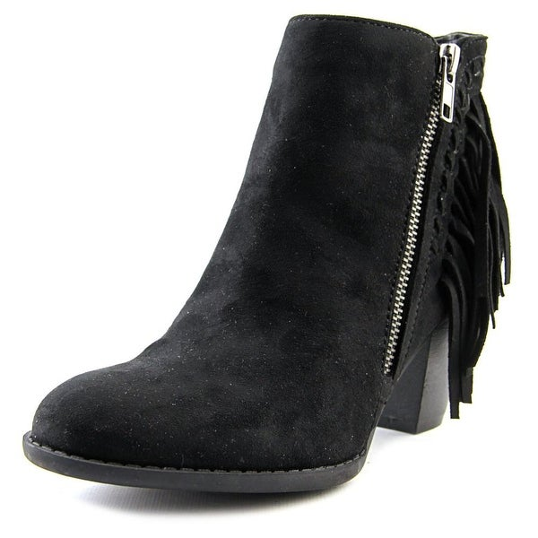 Indigo Rd. Jabaret Women Round Toe Synthetic Black Bootie