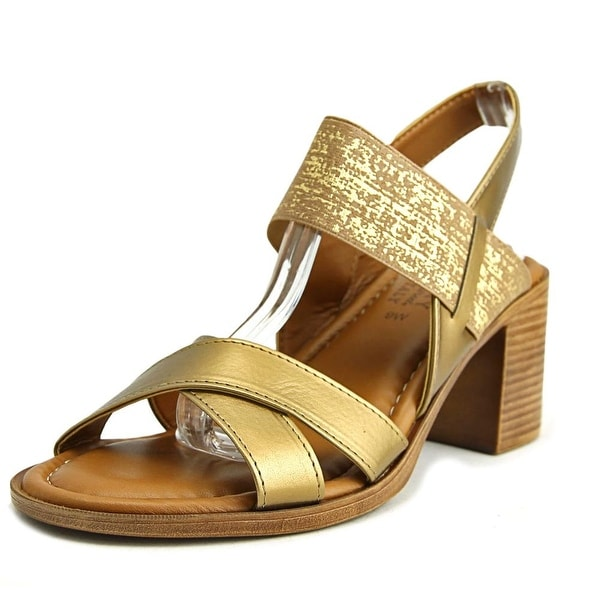 Easy Street Perlita Bronze Sandals