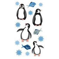 Penguins - Sticko Christmas Stickers