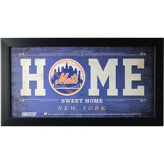 New York Mets 10x20 Home Sweet Home Sign