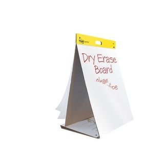 Post-it Self-Stick Easel Pad and Dry Erase Board, 25 x 23 Inches, Unruled, 20 Sheets