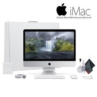 Apple iMac 21.5 Inch Desktop Computer ,2.3GHz Core i5, Bundle