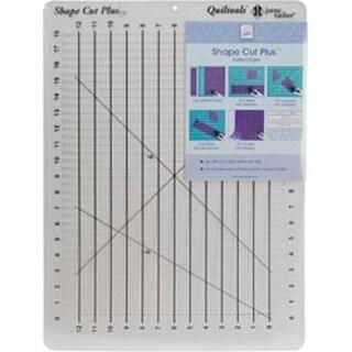"12""X18"" - Shape Cut Plus Ruler"