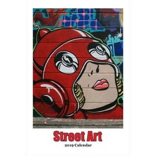 2019 Street Art Calendar 2019 Wall Calendar, Contemporary Art by Restrospect Gro