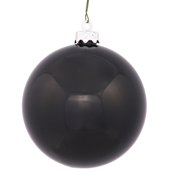 "3"" Jet Black Shiny Ball 32/Box"