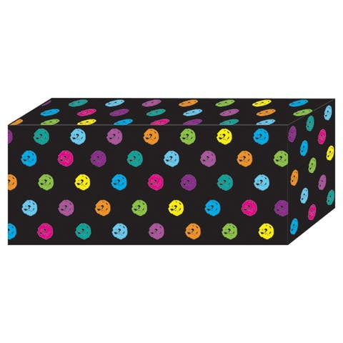 (6 Ea) Chalk Color Dot Block Magnet