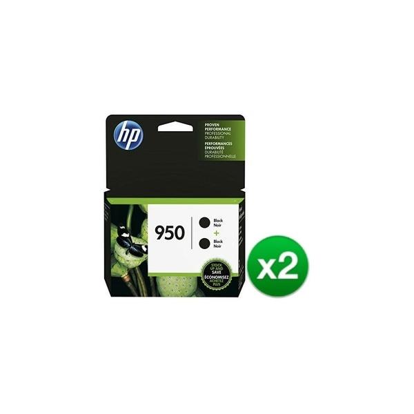 HP 950 Black Original 2 Ink Cartridge (L0S28AN)(2-Pack)