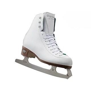 Riedell 19 Emerald - White Skate Medium