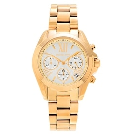 Michael Kors Women's 'Bradshaw' MK5798 Goldtone Stainless Steel Chronograph' Bracelet Watch
