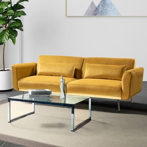 Adoraci Convertible Sofa with Split Back
