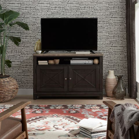 Heatherbrook Charcoal and Ash 46-inch TV Console