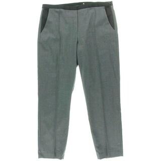 Elie Tahari Womens Solid Dress Pants