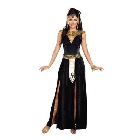 Exquiste Cleopatra Women's Costume - Black